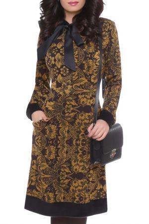 Платье Olivegrey. Цвет: шоколадный