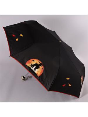Зонт Airton. Цвет: черный, оранжевый