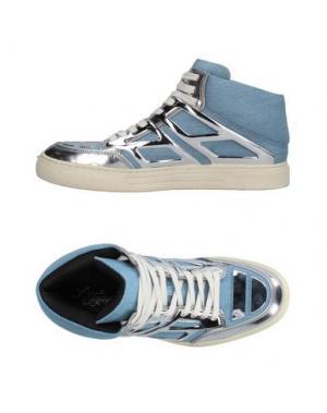 Высокие кеды и кроссовки ALEJANDRO INGELMO. Цвет: небесно-голубой