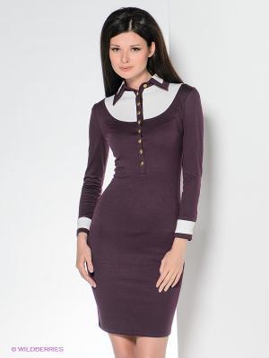 Платье Enna Levoni. Цвет: фиолетовый