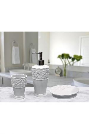 Набор для ванной Sofi De Marko. Цвет: белый