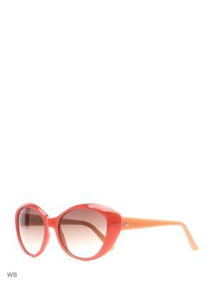 Солнцезащитные очки BE 937S 04 United Colors of Benetton. Цвет: фуксия, оранжевый