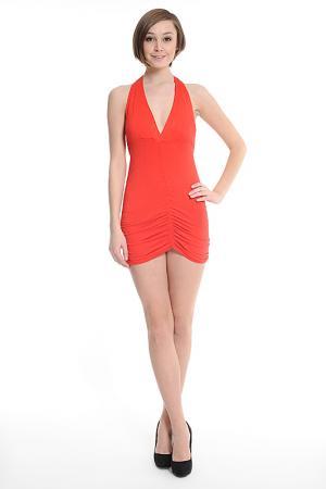 Платье Fashion Dress. Цвет: красный