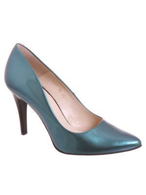 Туфли Goergo. Цвет: зеленый