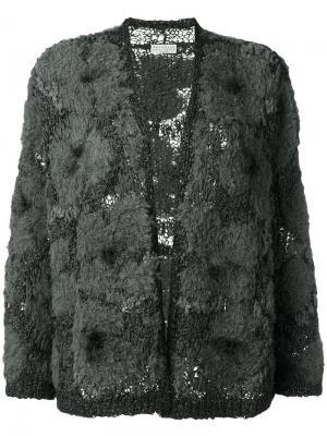 Твидовый кардиган Brunello Cucinelli. Цвет: серый
