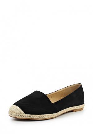Эспадрильи Max Shoes. Цвет: черный