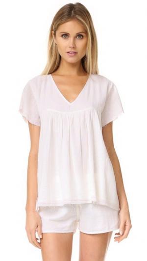 Рубашка Flirt Surf Bazaar. Цвет: белый