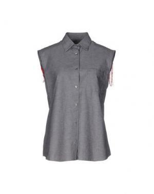 Pубашка ODI ET AMO. Цвет: свинцово-серый