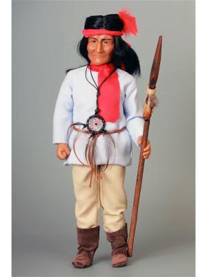 Кукла Jeronimo- Апачи Lamagik S.L. Цвет: бежевый, красный, белый