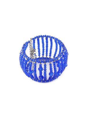 Браслет FOXTROT. Цвет: синий