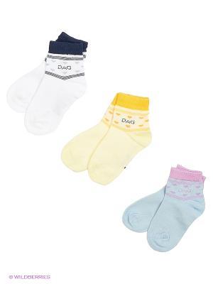 Носки детские DAG. Цвет: голубой