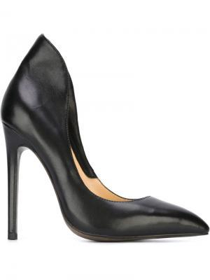 Туфли на шпильке Gianni Renzi. Цвет: чёрный