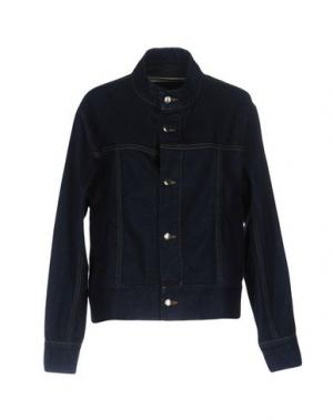 Джинсовая верхняя одежда ECKHAUS LATTA. Цвет: синий