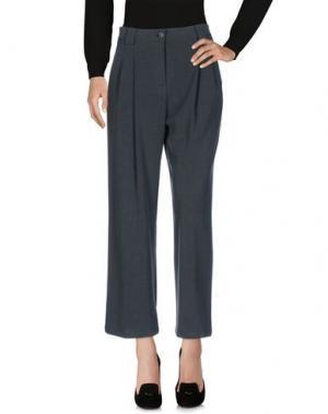 Повседневные брюки HOPPER. Цвет: серый