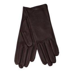 Перчатки  NEW_KATE/S темно-бордовый AGNELLE