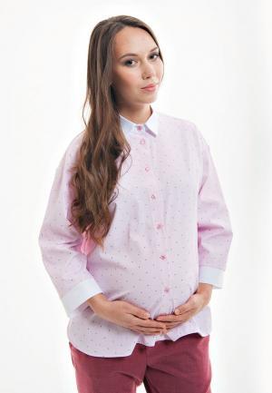 Рубашка week by. Цвет: розовый