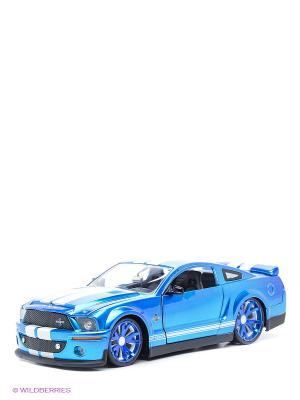 Модель автомобиля 2008 Shelby GT 500 KR Jada. Цвет: синий