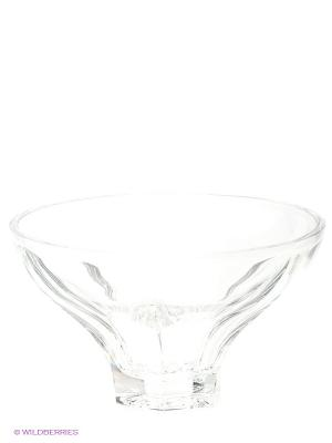 Салатница Crystal Bohemia. Цвет: прозрачный