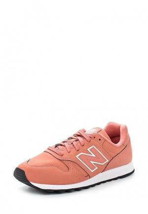 Кроссовки New Balance. Цвет: коралловый