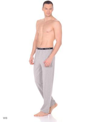 Брюки пижамные Calvin Klein. Цвет: серый