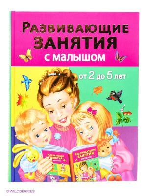 Развивающие занятия с малышом от 2 до 5 лет Издательство АСТ. Цвет: сиреневый