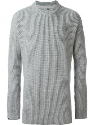Джемпер No.11 Unisex Extreme Cashmere. Цвет: серый