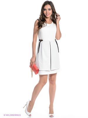 Платье Fullah Sugah. Цвет: белый