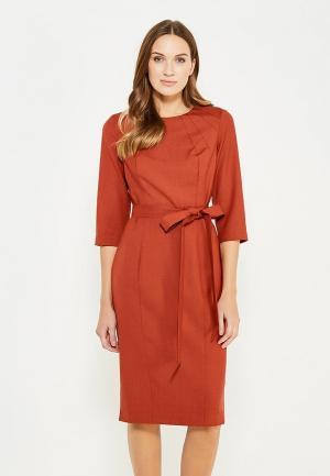 Платье Pallari. Цвет: оранжевый