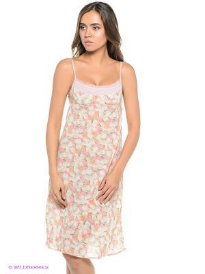 Ночная сорочка Lauma. Цвет: лиловый