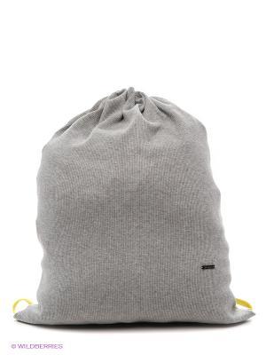 Рюкзак-мешок Форма. Цвет: серый