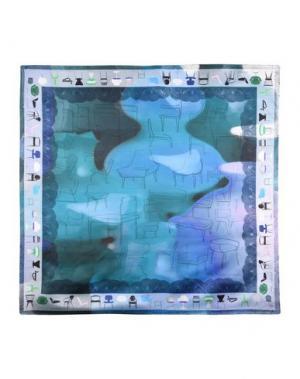 Платок MILA SCHÖN CONCEPT. Цвет: грифельно-синий