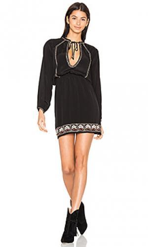Короткое платье camille Cleobella. Цвет: черный