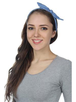 Повязка на голову Olere. Цвет: синий
