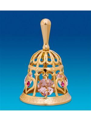 Фигурка Колокольчик с цв.кр. Юнион. Цвет: золотистый