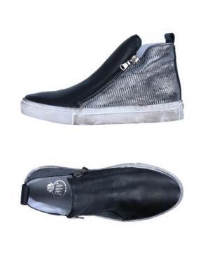 Высокие кеды и кроссовки BRAWN'S. Цвет: черный