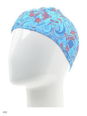 Детская шапочка для плавания Speedo. Цвет: розовый, голубой