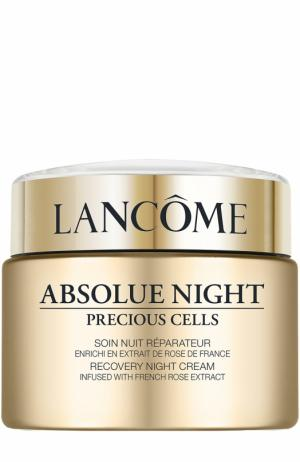 Ночной крем для лица Absolue Night Precious Cells Lancome. Цвет: бесцветный