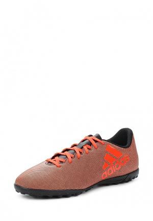 Шиповки adidas Performance. Цвет: оранжевый