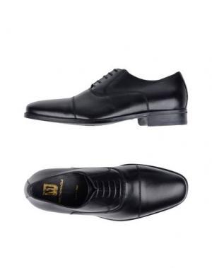 Обувь на шнурках BRUNO MAGLI. Цвет: черный