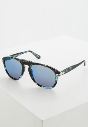 Очки солнцезащитные Persol. Цвет: голубой