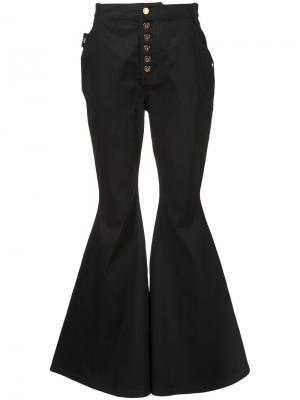 Flared trousers Ellery. Цвет: чёрный