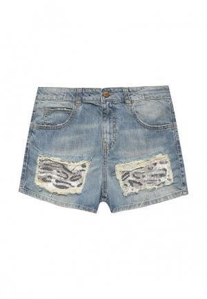 Шорты джинсовые Sisley. Цвет: голубой