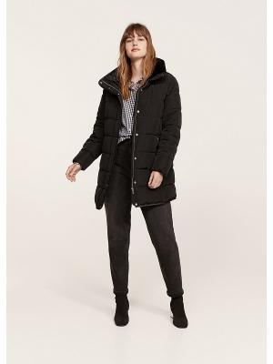 Куртка Violeta by Mango. Цвет: черный