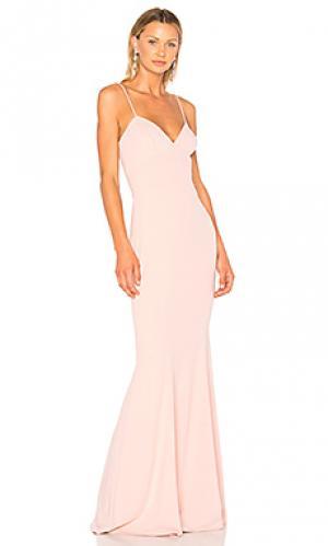 Вечернее платье luna Katie May. Цвет: розовый