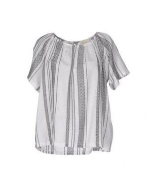 Блузка VICOLO. Цвет: белый