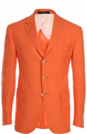 Пиджак Polo Ralph Lauren. Цвет: оранжевый