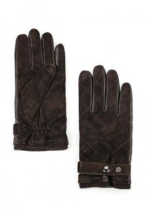 Перчатки Bata. Цвет: коричневый