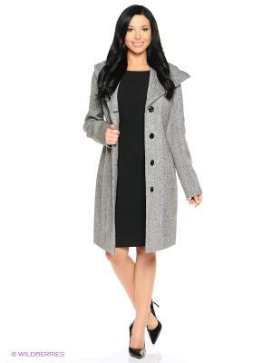 Пальто PARADOX. Цвет: серый, черный