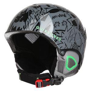 Шлем для сноуборда детский  Game Black Quiksilver. Цвет: черный,зеленый,серый