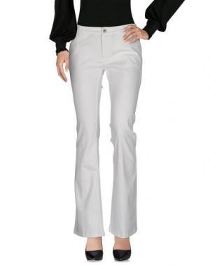 Повседневные брюки ROSE & LINI. Цвет: слоновая кость